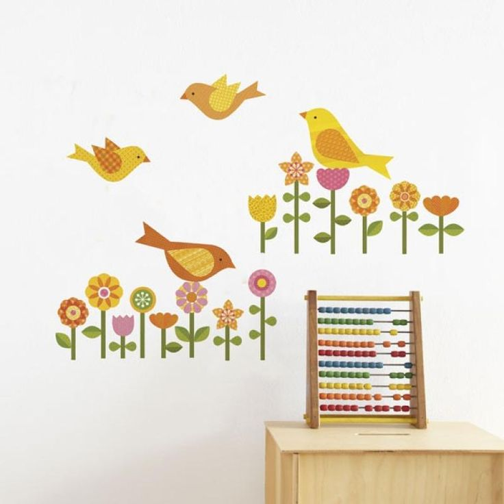 Garden Removable Wall Decal - Petit Collage for sale by Little Shop of Treasures. Other Petit Collage available now at LSOT.