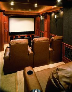Small Home Theater Room