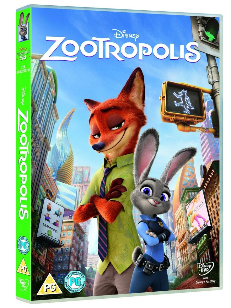 Zootropolis [DVD] [2016]: Amazon.co.uk: Byron Howard, Rich Moore, Clark Spencer: DVD & Blu-ray