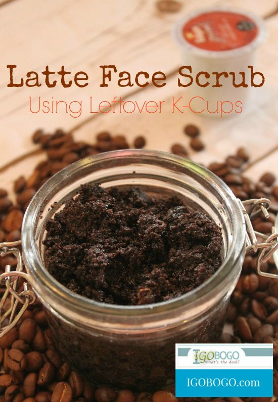 Latte Face Scrub