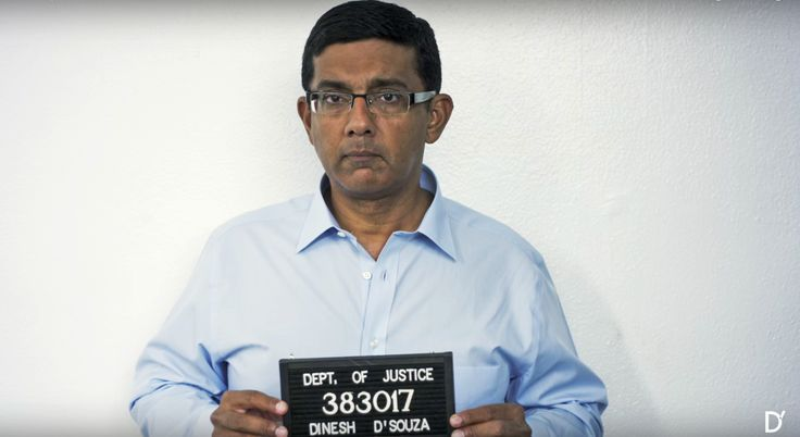 "PJ Media: D'Souza Says Hillary Film Could Earn Him ""Life in Prison"" - D'Souza was locked up for 8 months in a federal confinement center for a ""relatively minor campaign finance infraction"" following the release of his film about Obama."