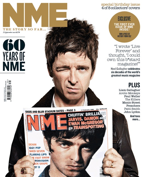 60 Years of NME... Noel Gallagher