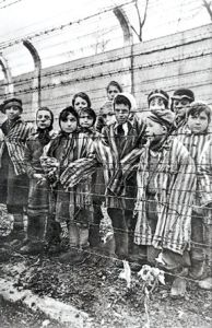 Child survivors who were liberated at Auschwitz-Birkenau in 1945 | https://furtherglory.wordpress.com/2011/01/09/international-holocaust-memorial-day-on-jan-27th/