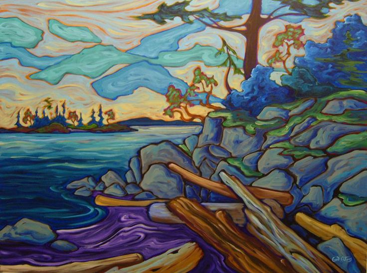 Near Wallace Point - Fred Peters