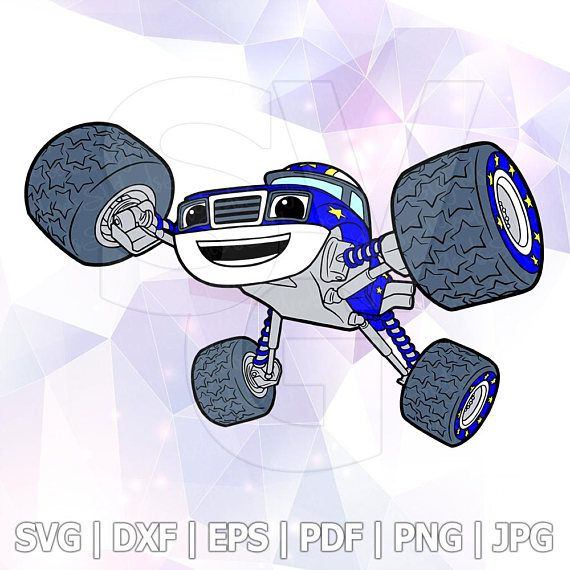 Pin On Monster Machines Blaze Svg
