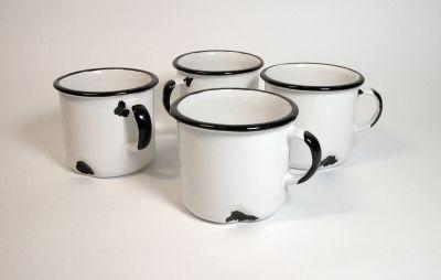 """""""Tak! Jestem z ceramiki!"""" - biały kubek // Agaf Design"""