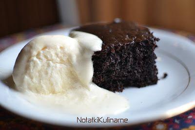 notatki kulinarne: Ciasto czekoladowo bananowe
