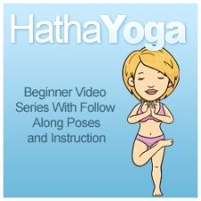 Hatha Yoga Poses that you can learn at home by watching this beginner video series - enjoy!