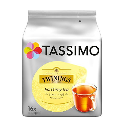 From 23.09:Tassimo Twinings Earl Grey Tea Pack Of 5 5 X 16 T-discs