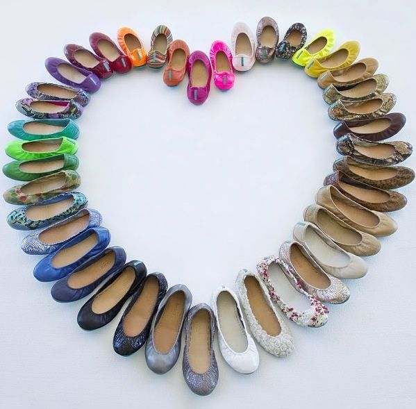 I'll take a pair in this color, and that color.  Wait...they cost how much again?  Tieks ballet flats