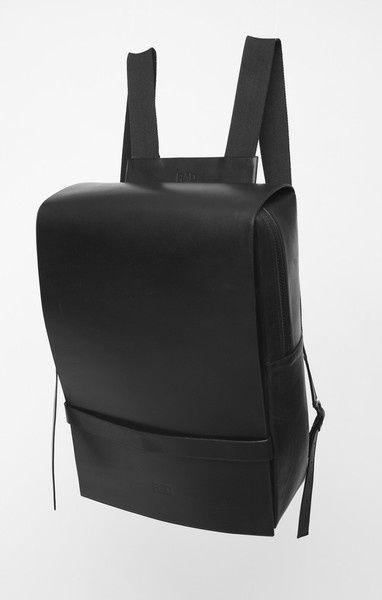 bag | backpack | leather | black http://alvarodiaz22.tumblr.com/