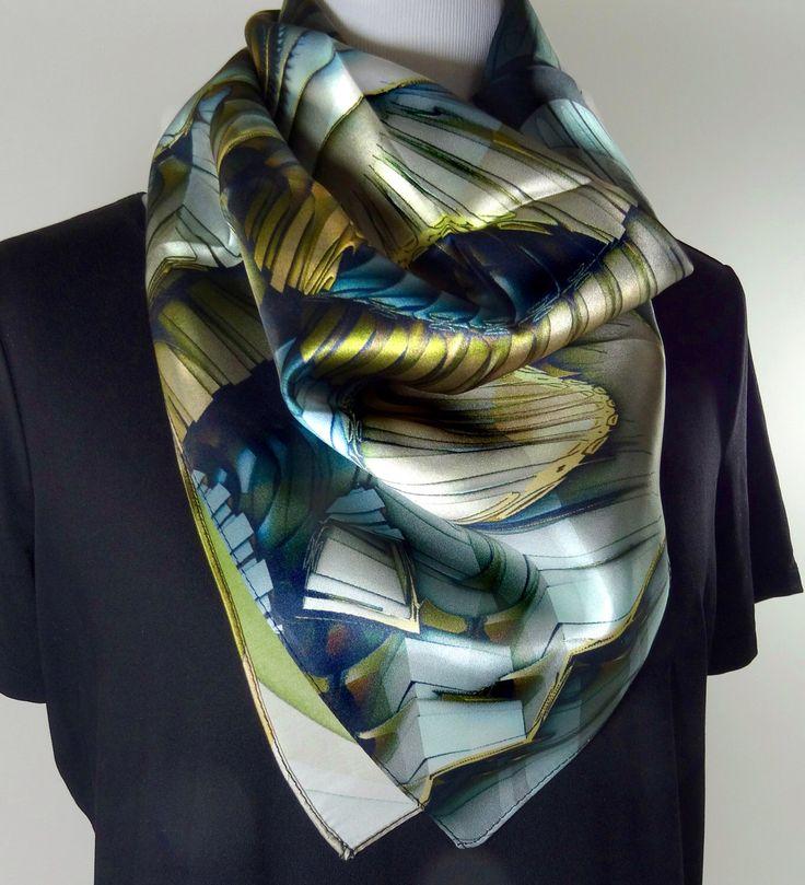 best 25 silk hair scarf ideas on hair scarf