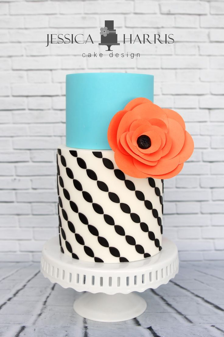 Jessica Harris Cake Design: 20 NEW Cake Design Ideas!!!  She makes the most stunning cakes!