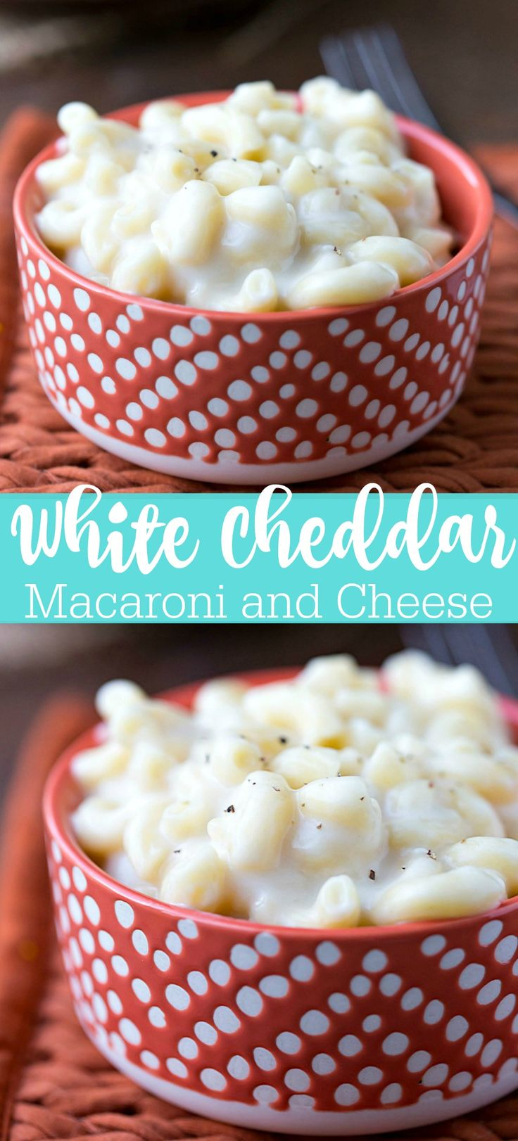 White Cheddar Macaroni and Cheese Recipe - classic creamy, cheesy dinner!