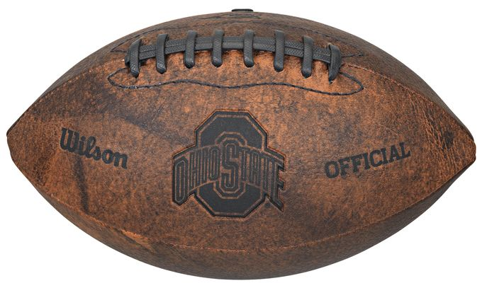 Ohio State Buckeyes Football - Vintage Throwback - 9 Inches Z157-8381365958