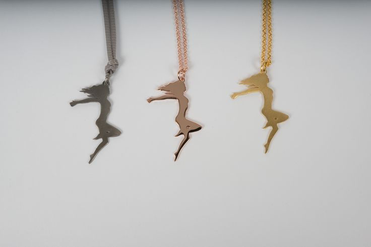 """""""Reinvent Yourself"""" Pendant By THE BRITELINE in Rhodium plated and Gold plated Bronze - Handmade"""