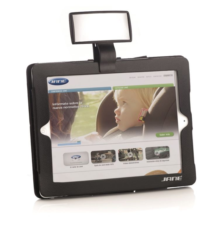 Cover tablet + safety mirror