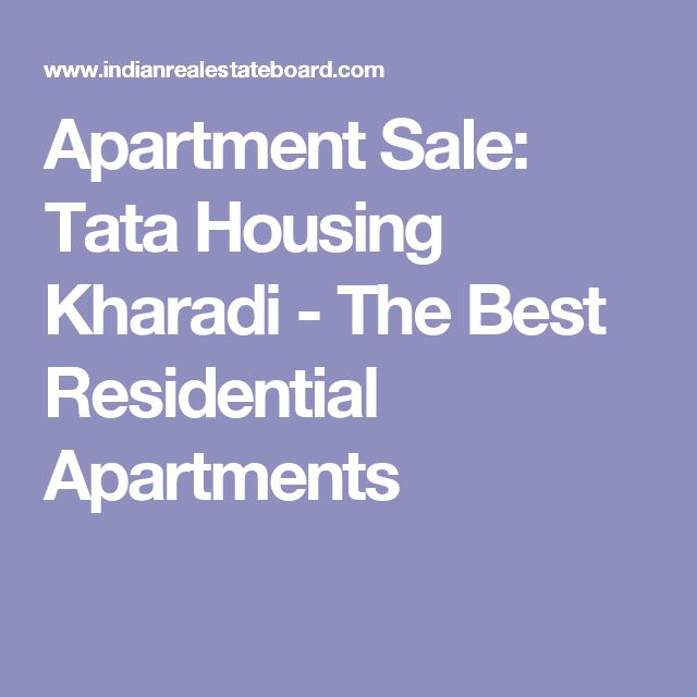 Apartment Sale: Tata Housing Kharadi - The Best Residential Apartments