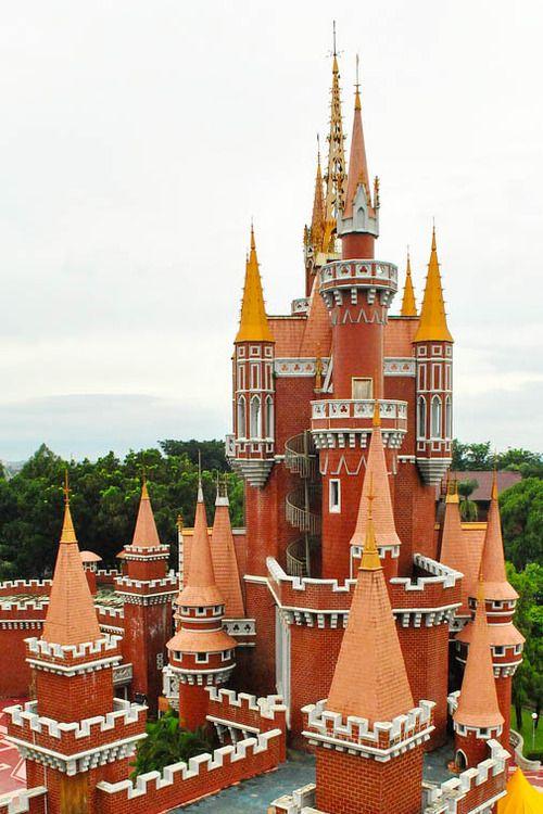 Castle, Taman Mini Indonesia Indah, Jakarta, Indonesia
