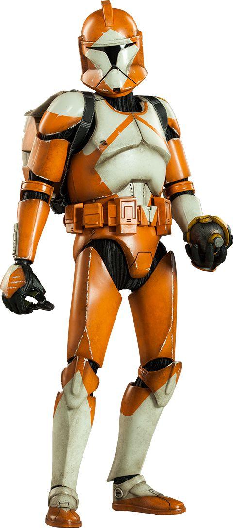 Bomb Squad Clone Trooper: Ordnance Specialist Sixth Scale Figure