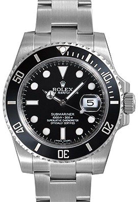 Los Esfera Bisel De Rolex Cerámica Negra Fecha Hombres Submariner DIWEHY29