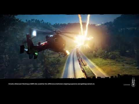 Just Cause3 Funny moments and epic fails - YouTube
