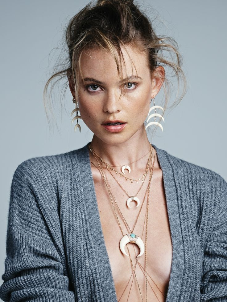 Behati Prinsloo stars in Jacquie Aiche's fall-winter 2015 campaign