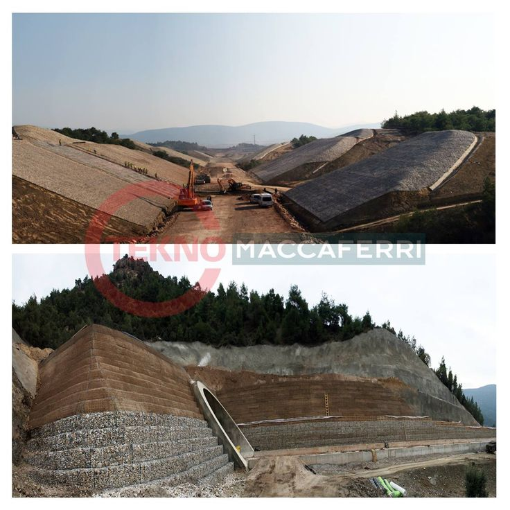İstanbul-Ankara Yüksek Hızlı Tren Projesinde Tekno Maccaferri İmzası! Portallarda Terramesh ve Green Terramesh İstinat Duvarı Şevlerde İse Erozyon Kontrolünü Sağlamak Amaçlı Renomatress Malzemeleri Uygulandı.