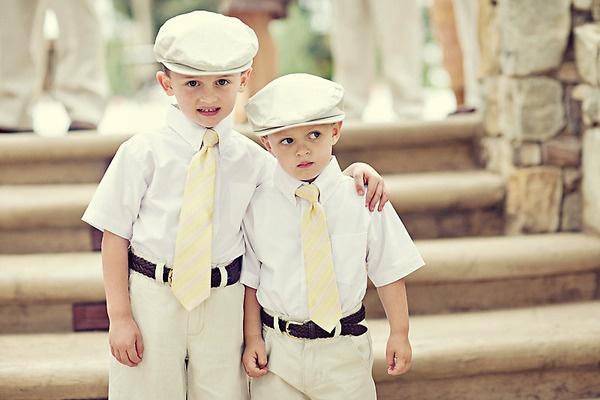 niños de cortejo