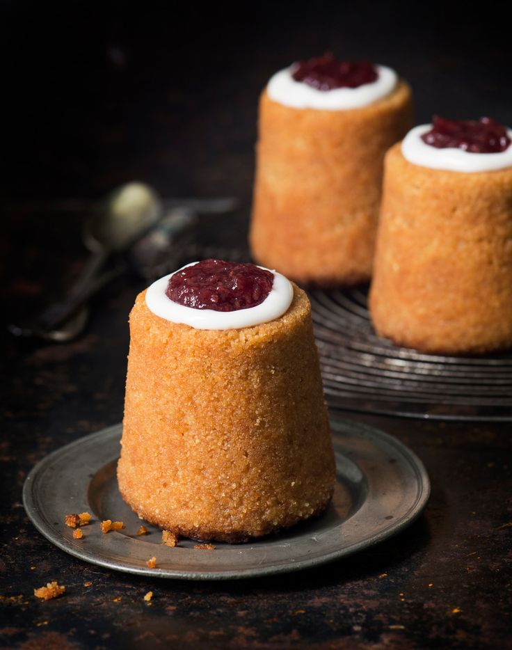 Runebergin torttu | Runeberg's (a national poet) Day, is traditionally celebrated with these little cakes in Finland.
