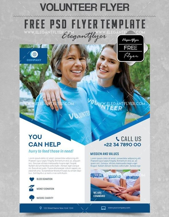 Free Charity Flyer Templates Free Brochure Template Free Psd Flyer Templates Flyer Template