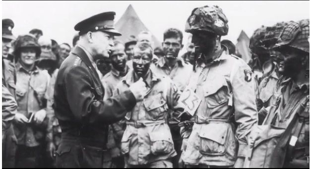 the attack of general dwight d eisenhower to the nazis As supreme commander of allied forces in western europe during world war ii, dwight d eisenhower led the massive invasion of nazi-occupied europe that began on d-day (june 6, 1944) in 1952 .