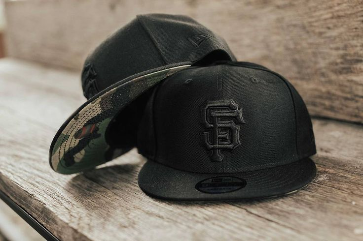 SF Giants New Era cap in black/camo finally back in stock and available in-store and online. #ShopUP #UpperPlayground #SFGiants