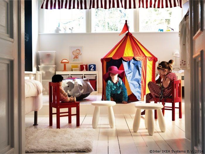 Lumeee, lumeee, a venit circul în sufragerie! www.IKEA.ro/cort_CIRKUSTALT