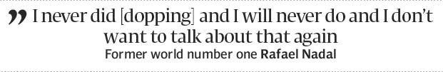 Nadal demands justice after doping allegations - The Express Tribune