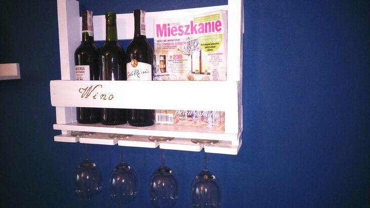 Wine wodden holder