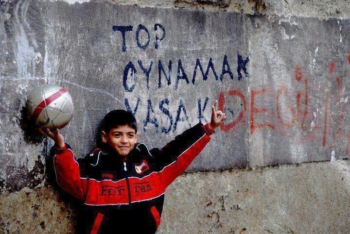 Top oynamak yasak değil ;)