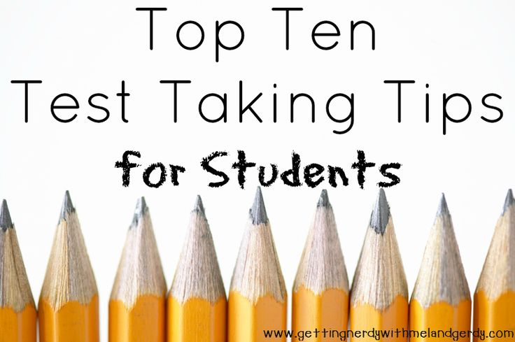 Test time is right around the corner - use these tips to assist students during unit tests, AP, and State Science Exams.