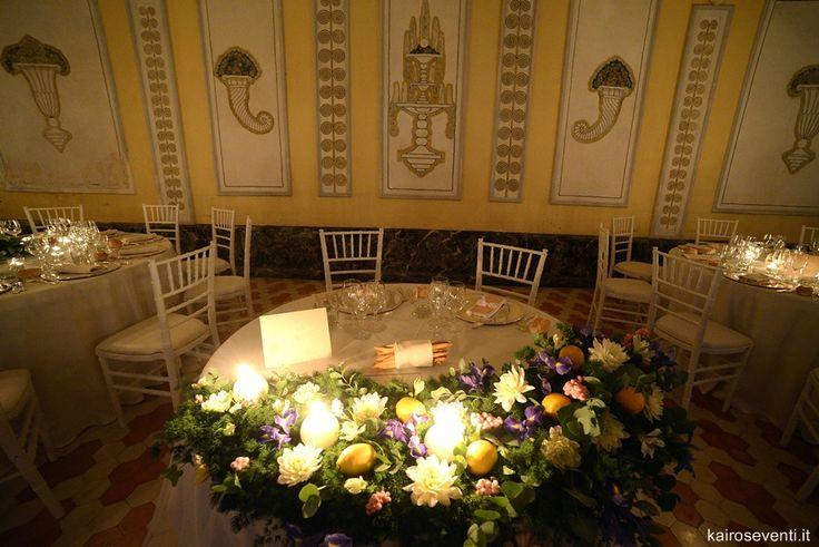 Allestimento tavolo degli sposi | Wedding designer & planner Monia Re - www.moniare.com | Organizzazione e pianificazione Kairòs Eventi -www.kairoseventi.it | Foto Photo27