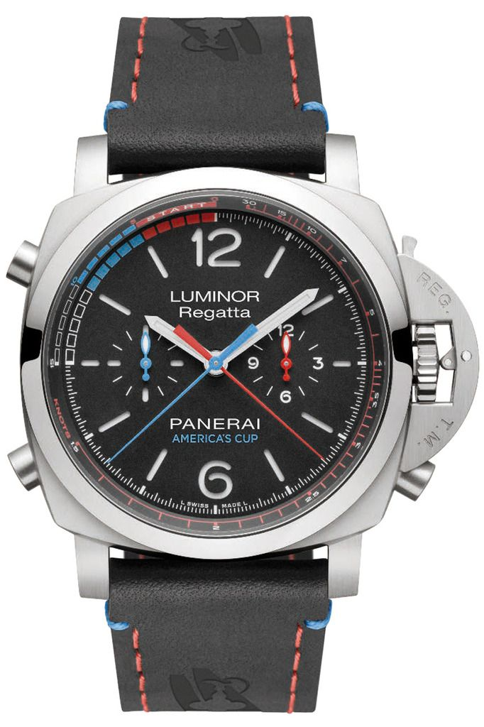 Panerai Regatta Americas Cup Edition (PAM00726) presented at SIHH 2017 and only 200 units. Still preffer the previous Regatta (PAM526) but this one is beautiful too.