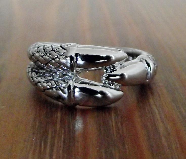 Claw Ring. $23.00, via Etsy.