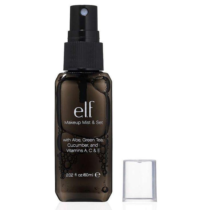 Spray fixant . ELF : Maquillage à petit prix