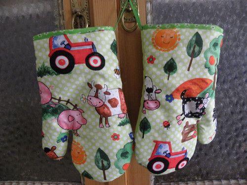 Kuch.rukavice z  pro kluky