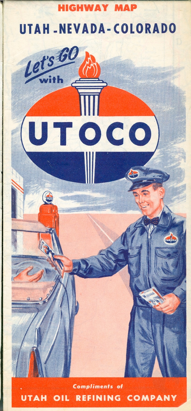 Let's go with UTOCO - A Utah Oil Refinery Company - The first successful petroleum company in the state!