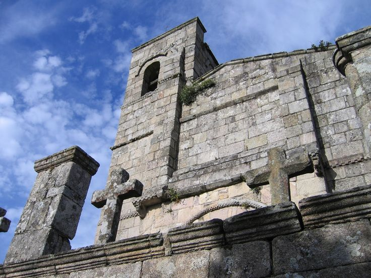 Iglesia de Santiago, Barbadelo, Lugo, Camino de Santiago