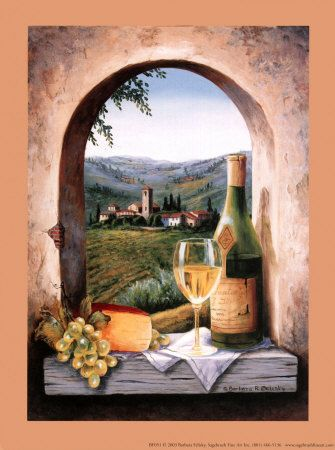 Tuscany Dreams Art Tuscan Style Decor Pinterest