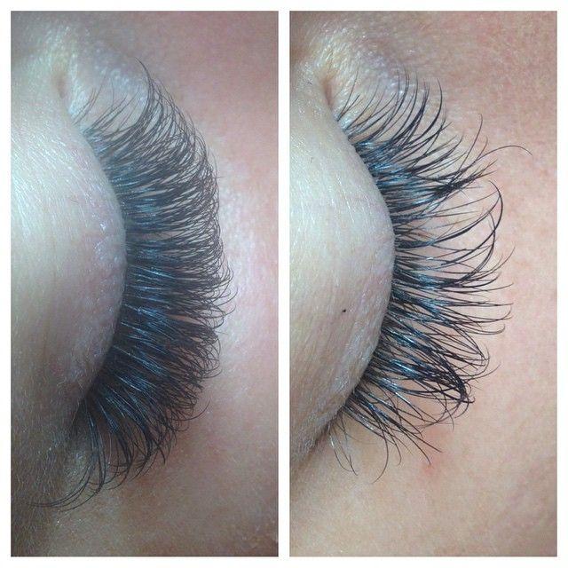 Eyelash Extensions Salon Set Up Ideas: { B E F O R E & A F T E R } Volume Fill. Volume Full Set
