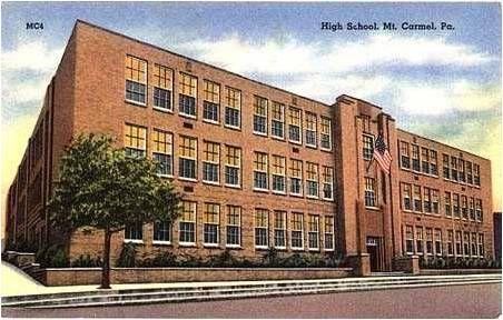 The High School, Mt. Carmel, PA