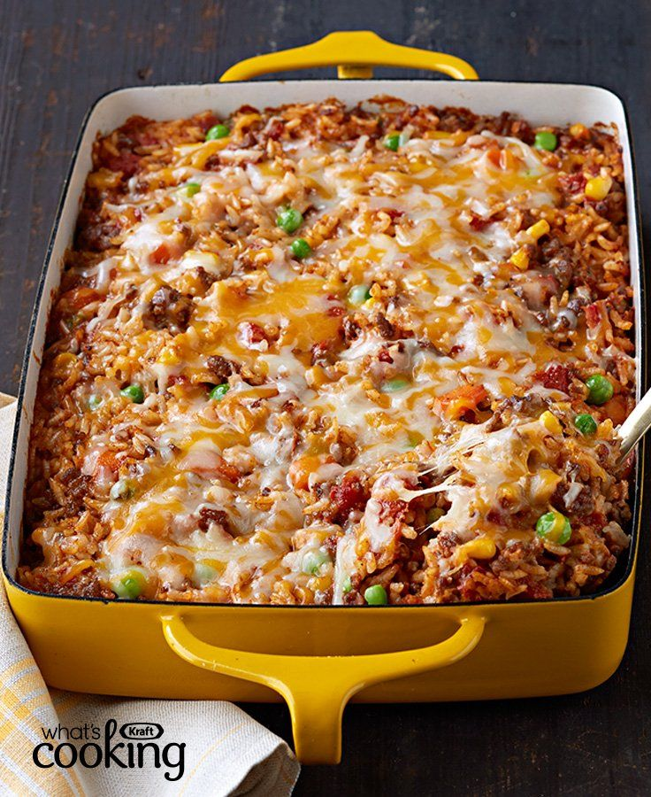 Mexican Beef And Rice Casserole Recipe Beef Dinner Ground Beef Recipes Healthy Mexican Food Recipes