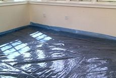 How to Level a Floor Before Putting Down Hardwood Flooring • Ron Hazelton Online • DIY Ideas & Projects